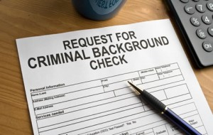 request for background check